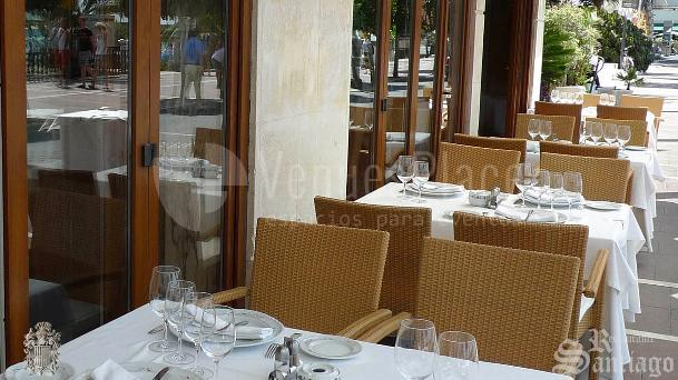 Organiza tu evento en la Terraza del Restaurante Santiago