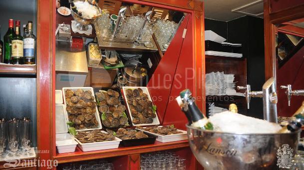 Materia prima de primera calidad para su evento en el  Restaurante Santiago