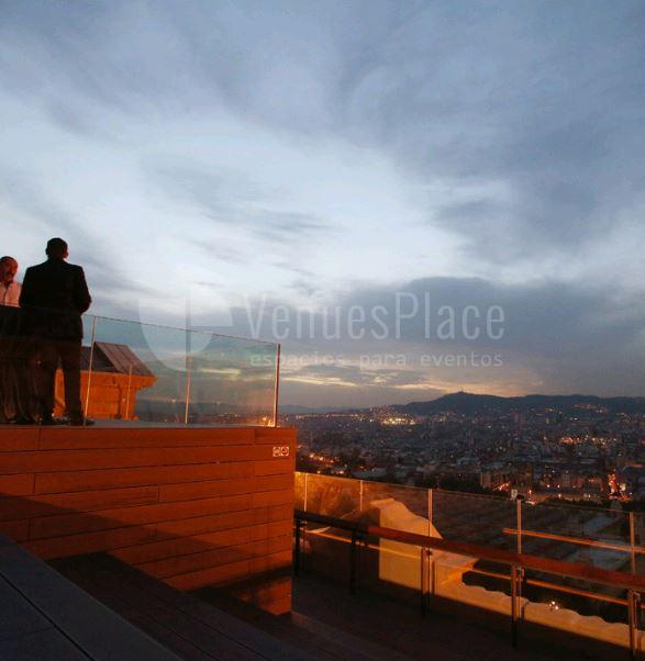 Terraza para eventos en MNAC Museu Nacional d'art de Catalunya