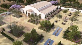 Jardines: Cortijo Olivar de la Sargenta