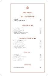 Carta de vinos Sinsombrero 1