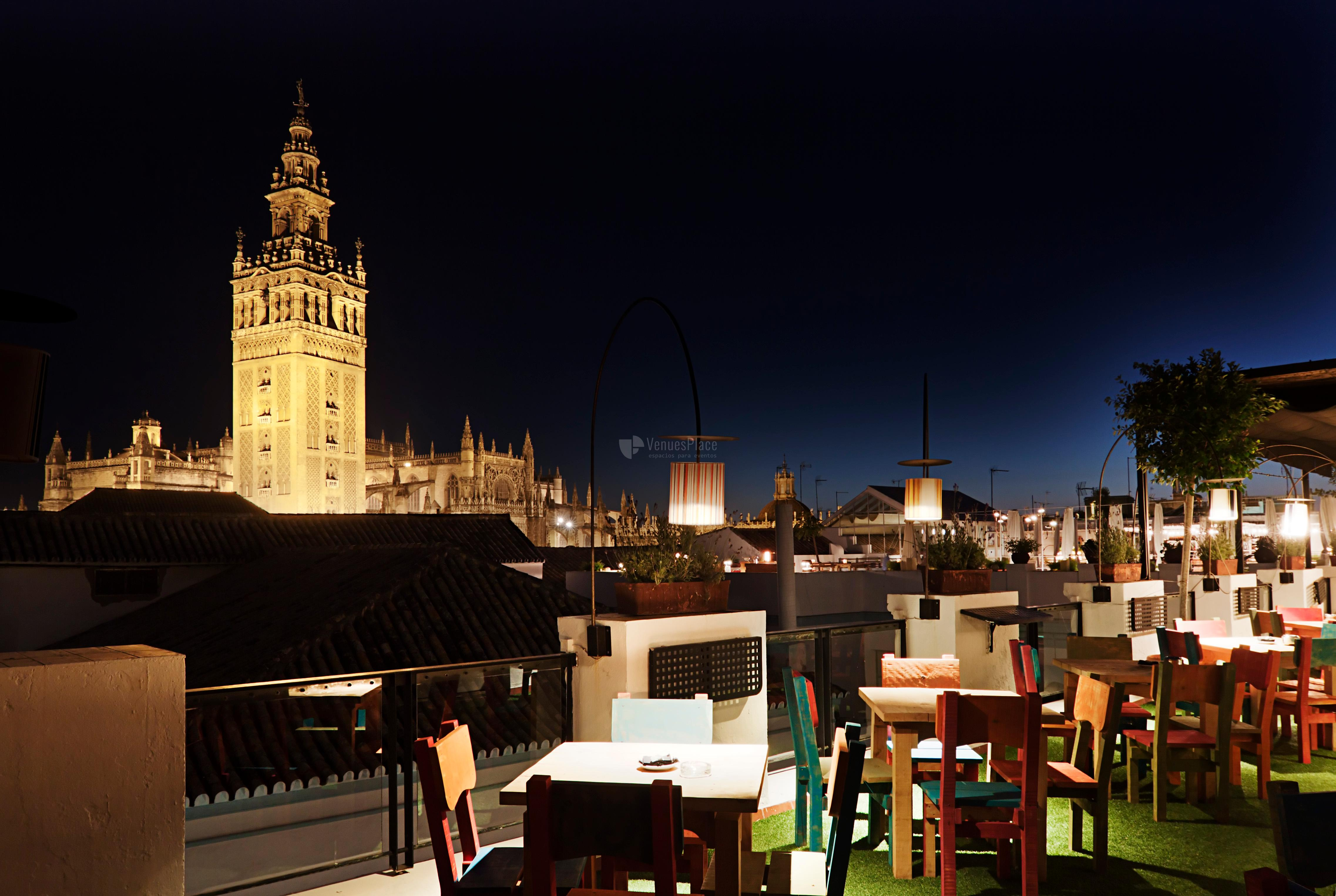 Terraza en Hotel Los Seises by Fontecruz