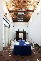 Montaje mesa imperian en el  Hotel Los Seises by Fontecruz