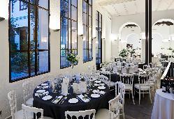 Montaje banquete de boda en el Hotel Los Seises by Fontecruz