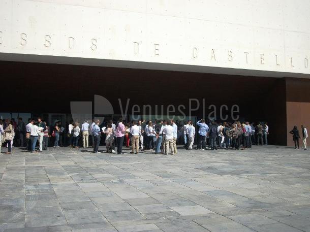 Foto exterior en Auditori i Palau de Congressos