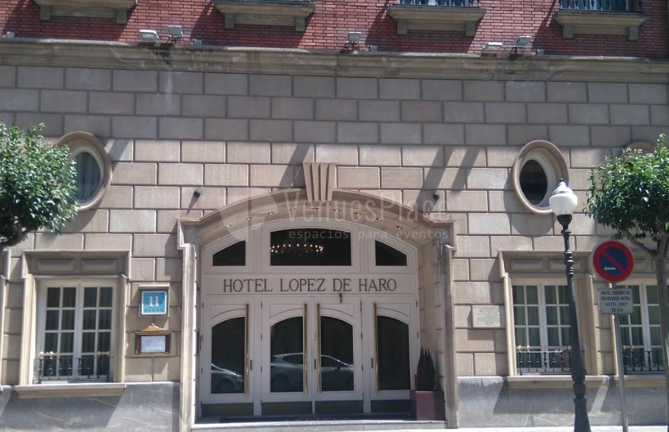 Exterior 2 en Hotel López de Haro