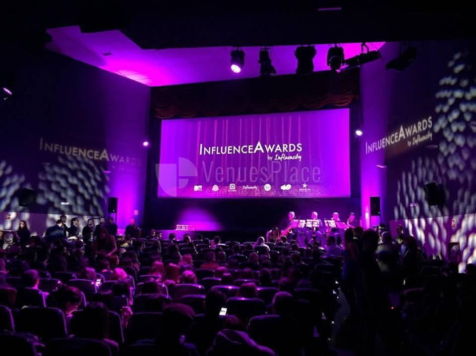 Entrega de premios en Cine de la Prensa de Madrid