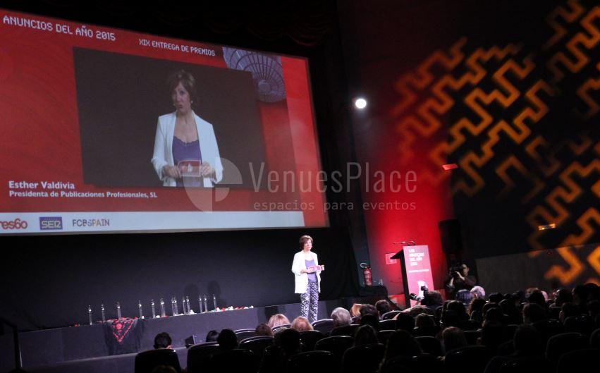 Ruedas de prensa, entrega de premios en Cine de la Prensa de Madrid