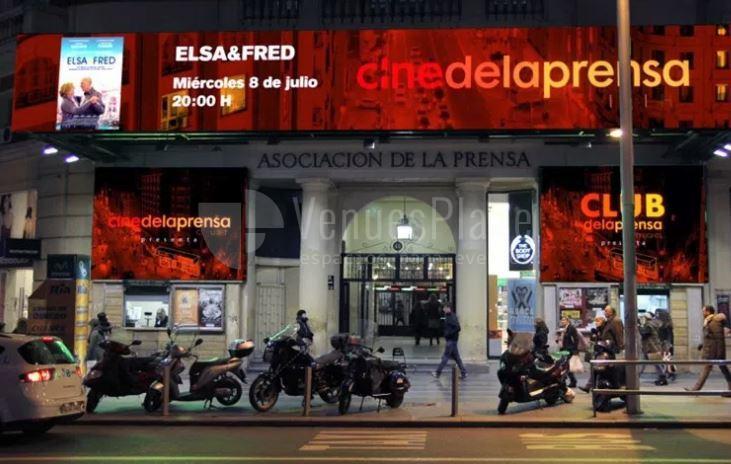Celebra tu evento en Cine de la Prensa de Madrid