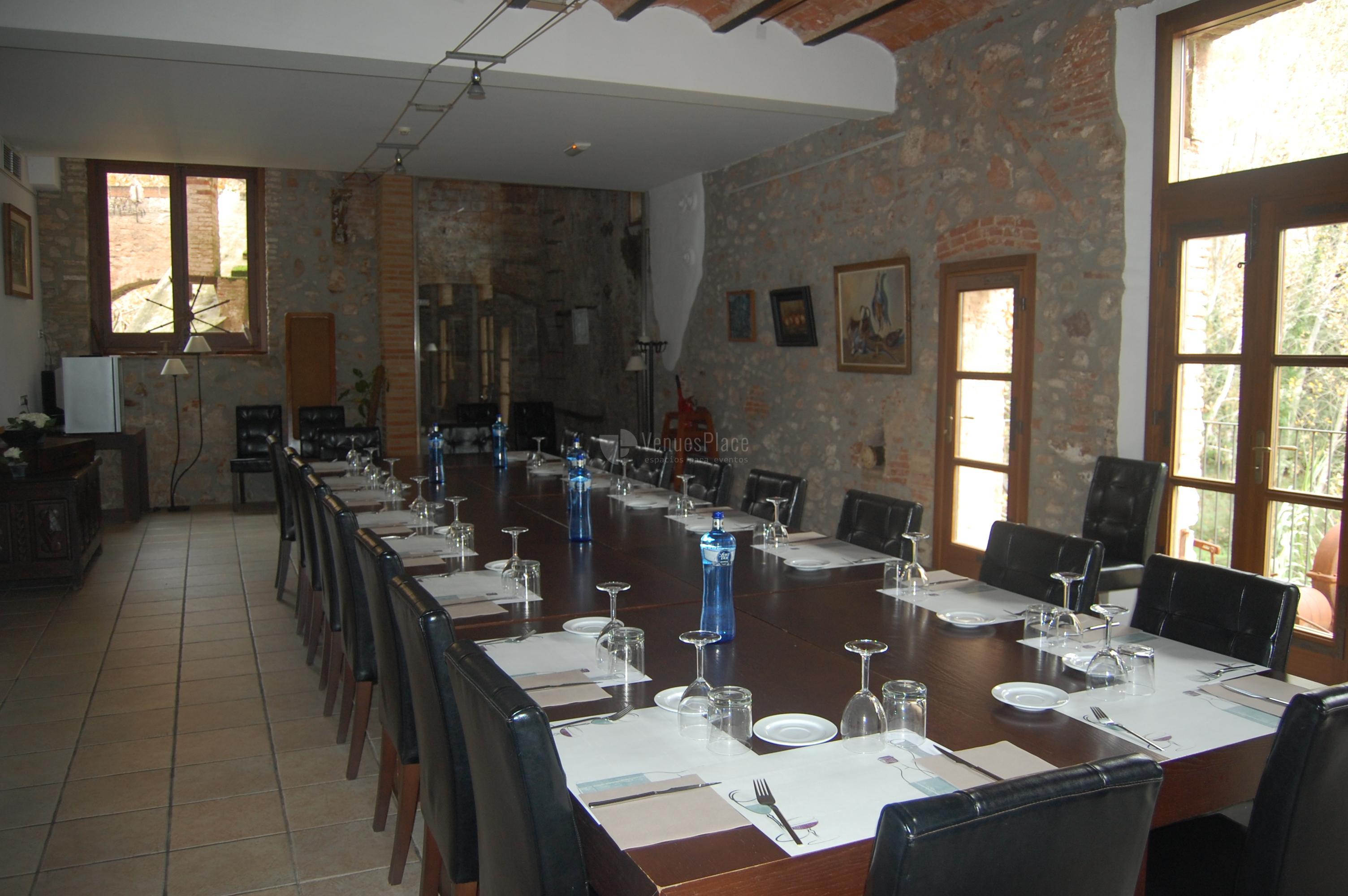 Comedor en Hotel Moli de la Torre