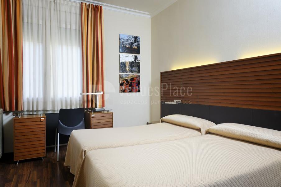 Habitaciones individuales con espacio de  en Hotel Astoria