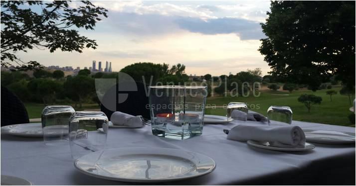 Espacios exclusivos para tus eventos y celebraciones en Campo de Golf 2 La Moraleja
