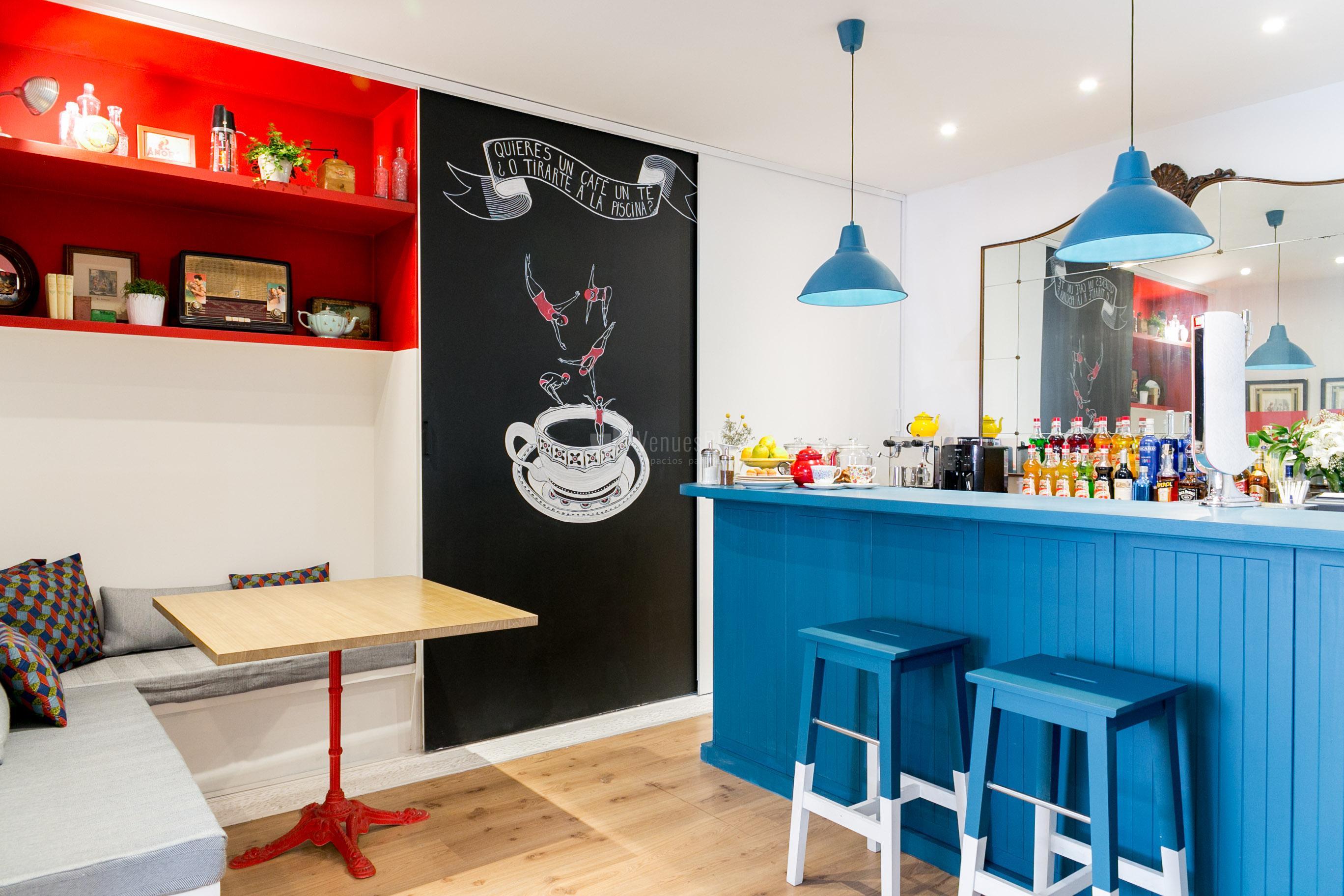 Pop up store, actividades team building y otros eventos corporativos en La Piscine Café