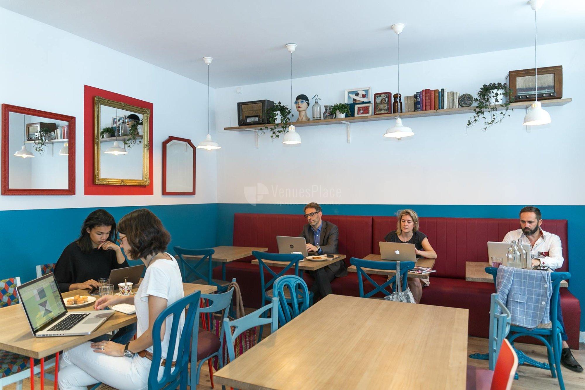Coworking, coffice en un ambiente diferente en La Piscine Café