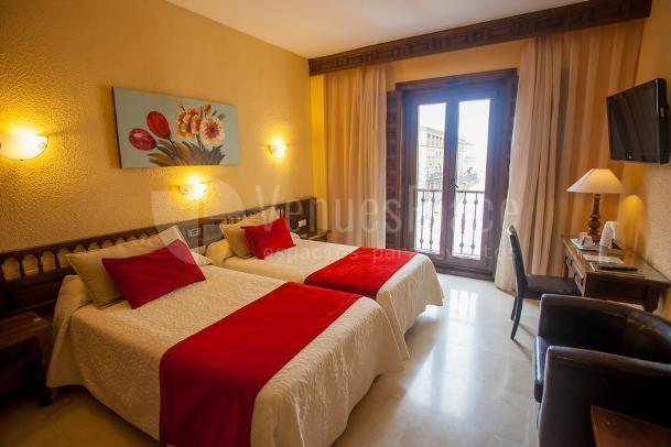Interior 2 en HOTEL ALFONSO VI
