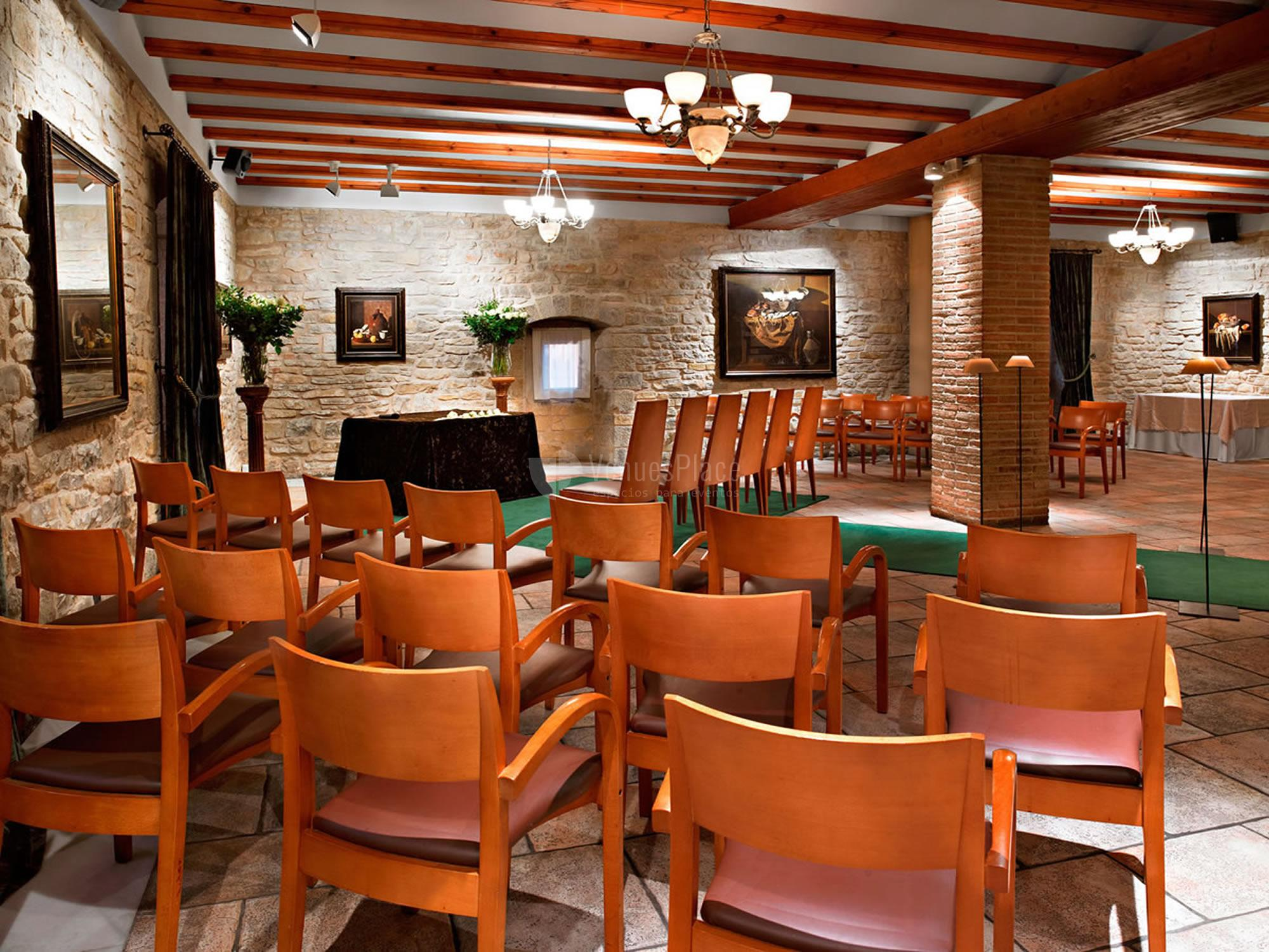 Montaje 9 en Castillo de Gorraiz