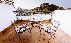 Terraza Habitación en Terraza Doña Manuela