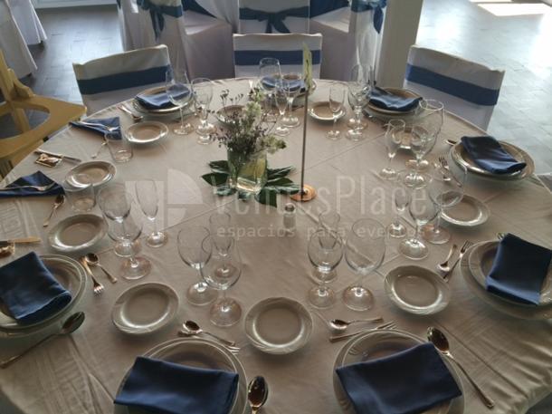 Restaurante Club de Tiro Pichón montaje