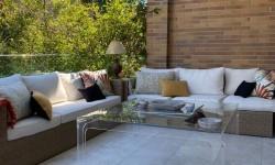 Casa adosada con buhardilla, jardín con pérgola y piscina en Comunidad de Madrid