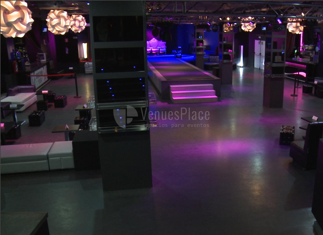 Espacios adaptables para todo tipo de eventos en Discoteca Zenith