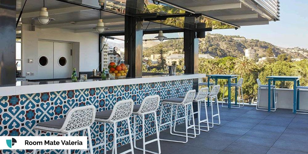 terraza room mate valeria
