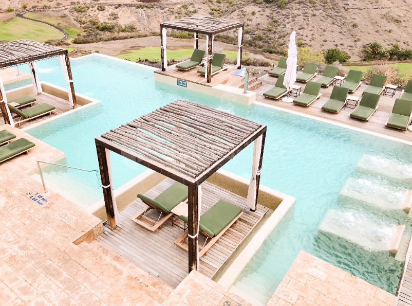 Salobre Hotel Resort & Serenity - Vitality Pool Aloe Spa