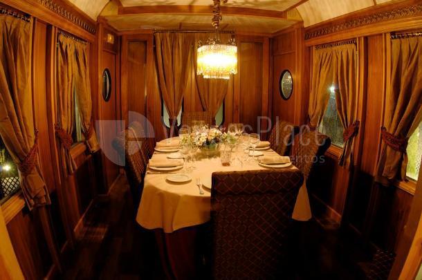 Para un ambiente mas privado disfruta del reservado del Restaurante Al Andalus Expreso