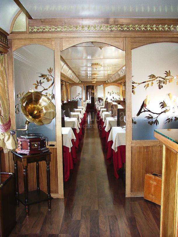 Salon y comedor del Restaurante Al Andalus Expreso