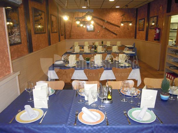 INTERIOR Restaurante Bocados