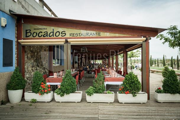 EXTERIOR TERRAZA Restaurante Bocados