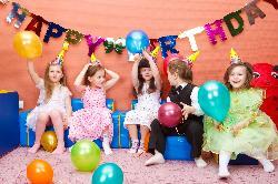 Espacios para celebrar una fiesta de cumpleaños infantil