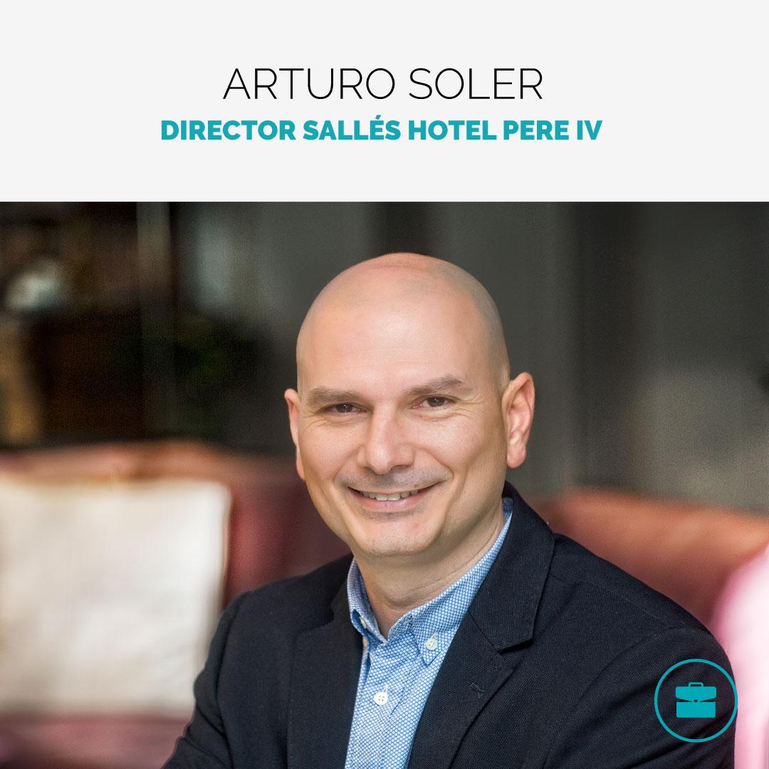 Director Sallés Hotels Pere IV