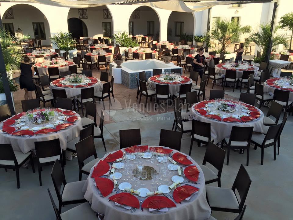 Montaje a tu gusto, cuidamos todos los detalles en Hacienda La Biznaga
