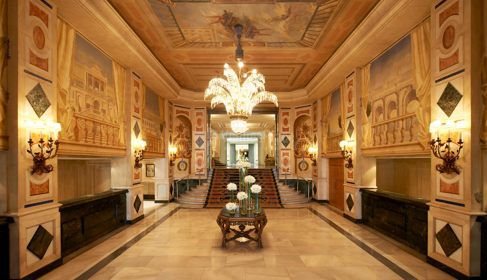 Lobby de The Westin Palace Madrid