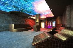 Increíble cielo estrellado en el spa de Hotel & Spa Ciudad de Binéfar