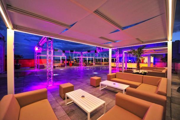 Disfruta una terraza panorámica Chill Out en Hotel & Spa Ciudad de Binéfar