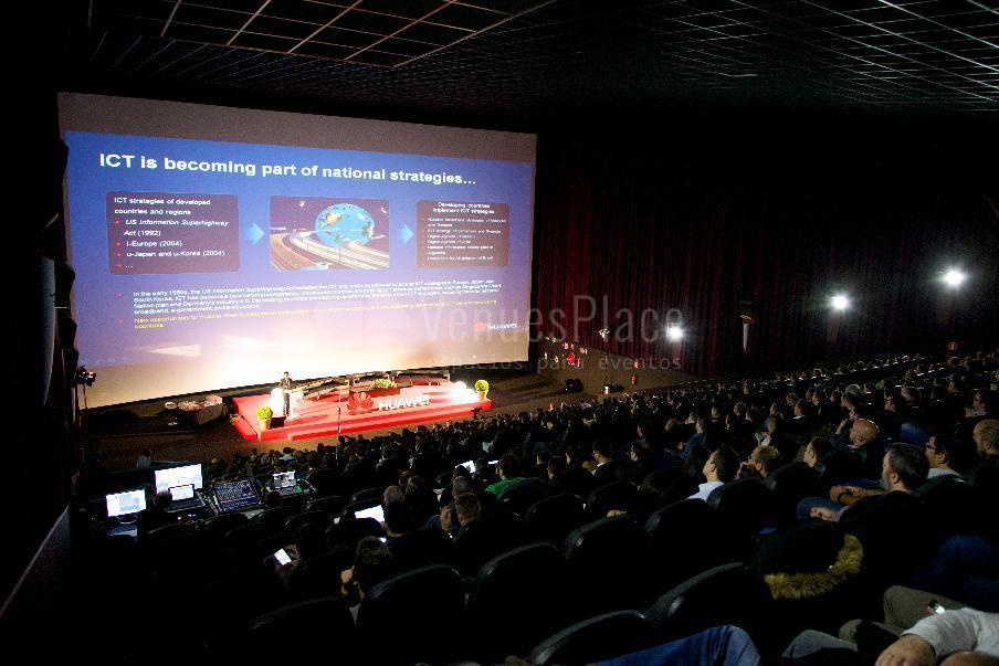 Grandes eventos, presentaciones en Kinépolis Diversia Alcobendas