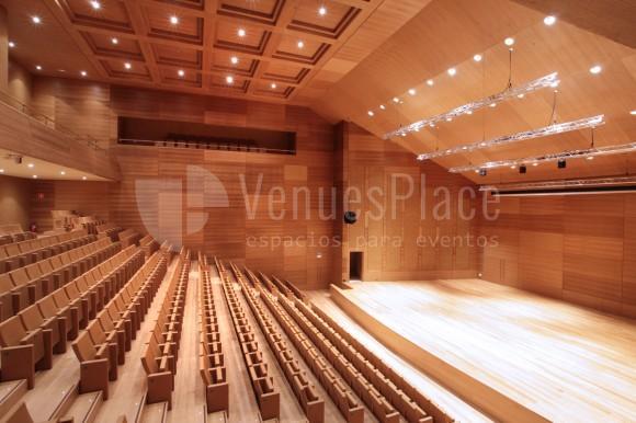Foto sala de cámara en Auditorio Miguel Delibes