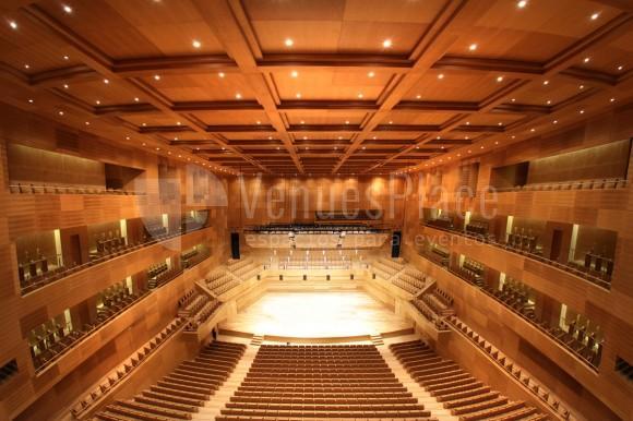 Foto sala sinfónica en Auditorio Miguel Delibes
