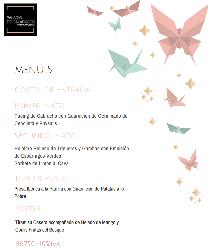 Menú para bodas en Palacio de Galápagos