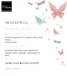 Menú especial en Palacio de Galápagos