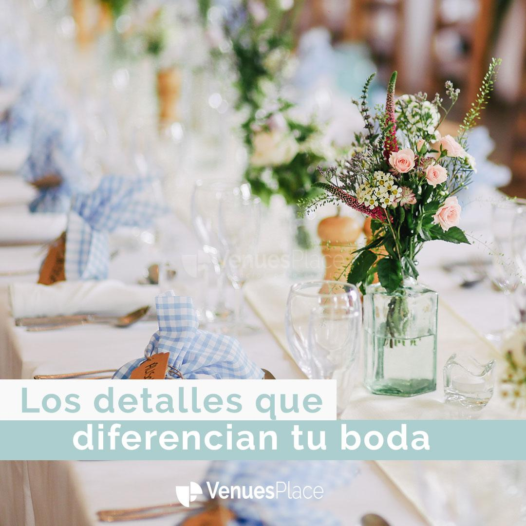 12 detalles que marcan la diferencia en una boda