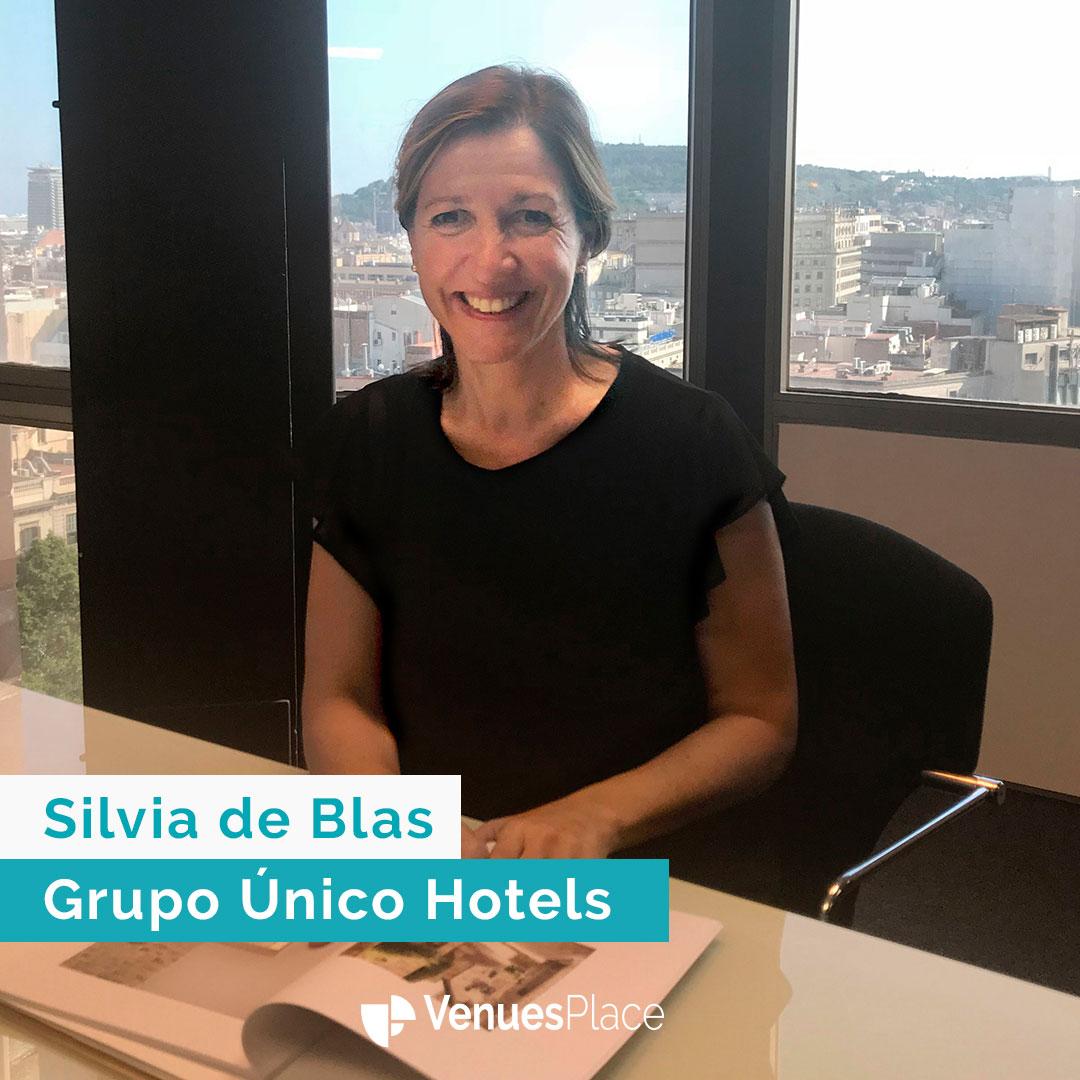 Silvia de Blas: grupo Hoteles