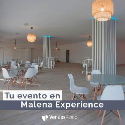 Malena Experience: un espacio versátil que se adapta a las necesidades de tu evento