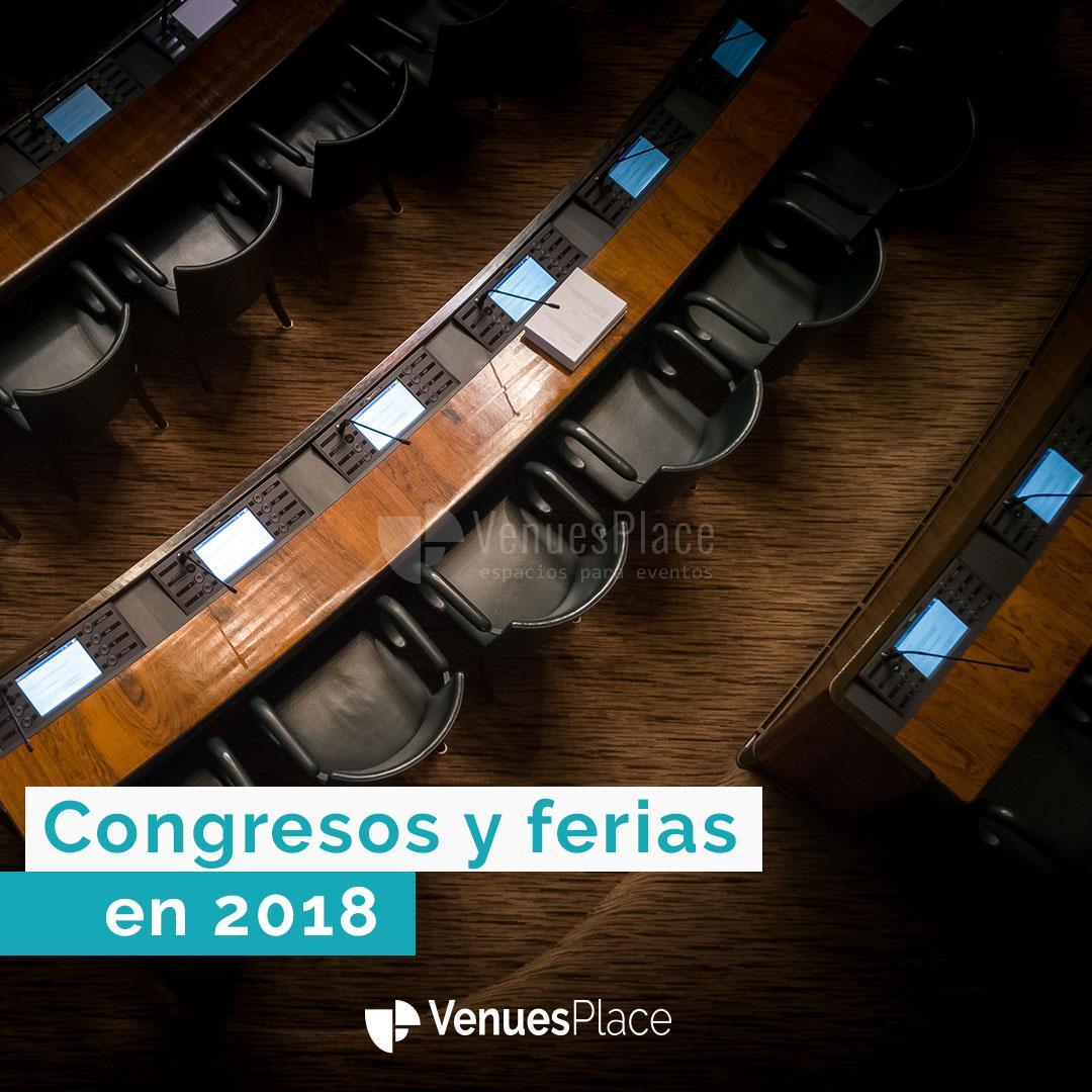 ¿Quieres saber lo que depara el 2018 para congresos y ferias?