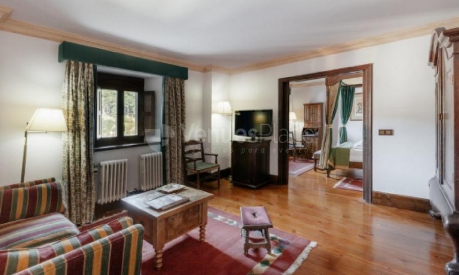 Salones privados en las habitaciones en PARADOR DE GREDOS