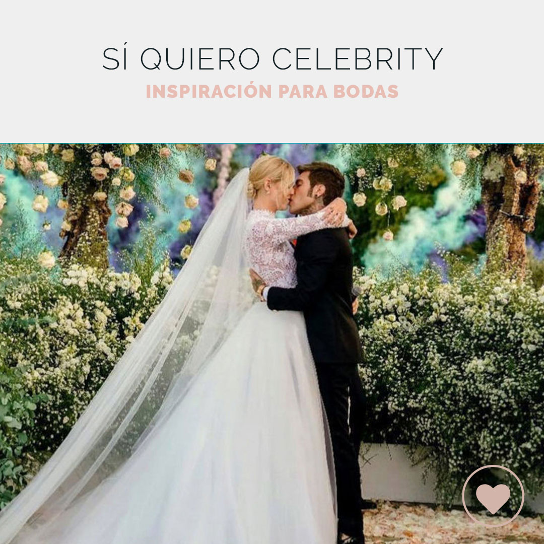 Inspiración para tu boda en los enlaces más top de los famosos