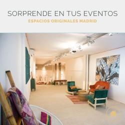 Espacios originales para eventos corporativos en Madrid