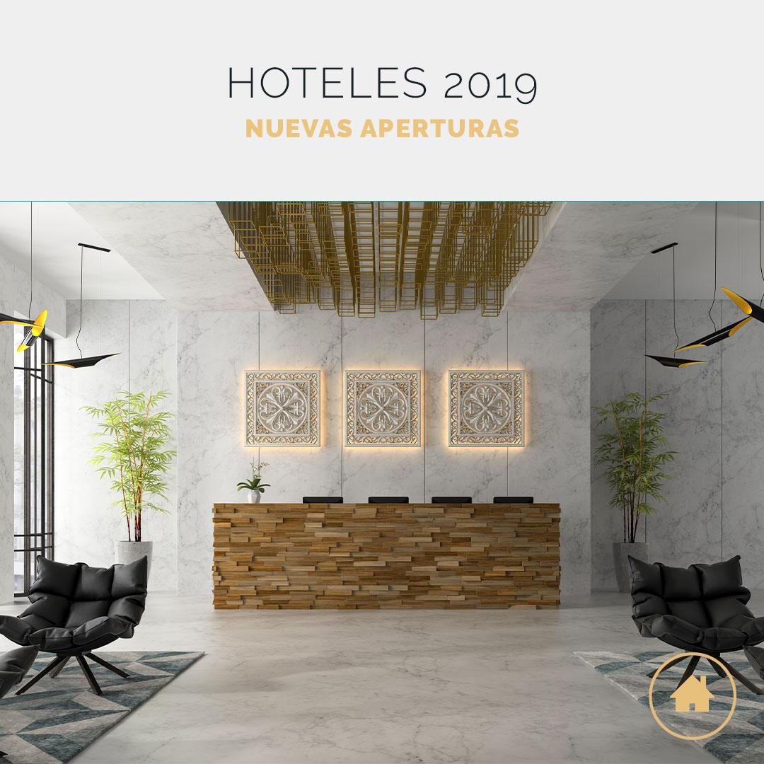 Nuevos hoteles que veremos en 2019
