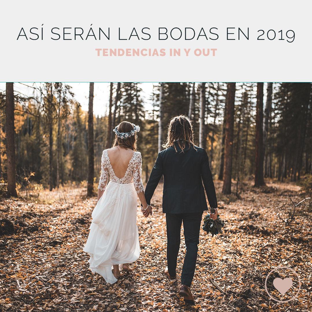 Ideas para bodas 2019 que serán tendencia